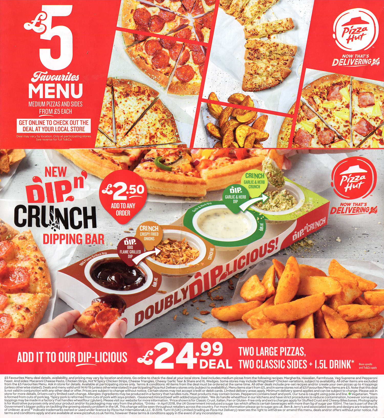 Pizza Hut Delivery | Ilkeston Takeaway Menus